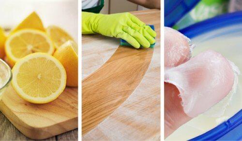 8 detergenti naturali per pulire il legno