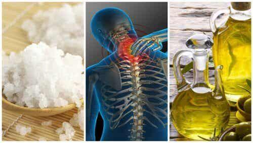 Meraviglioso trattamento a base di sale e olio per i dolori articolari
