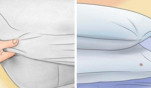 Scoprite come sbiancare facilmente cuscini e materassi