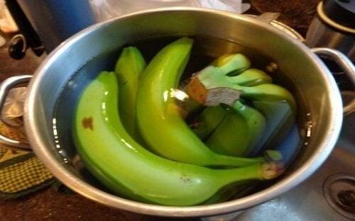 Tè banana e cannella