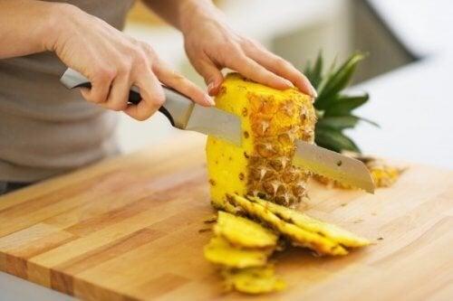 trattamento con ananas