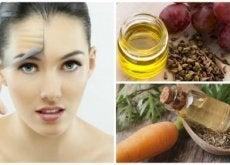 olio pelle del viso