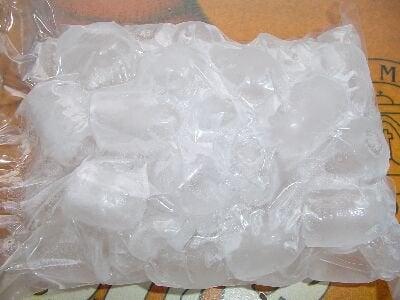 Borsa con ghiaccio