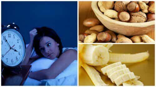 8 alimenti che aiutano a trattare l'insonnia