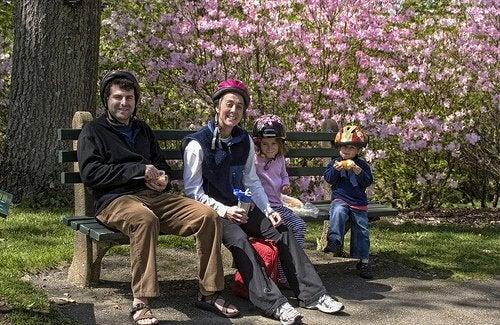 trascorrere del tempo con la propria famiglia