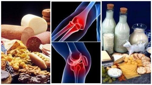 8 alimenti da evitare in caso di problemi alle articolazioni