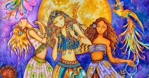 donne che ballano