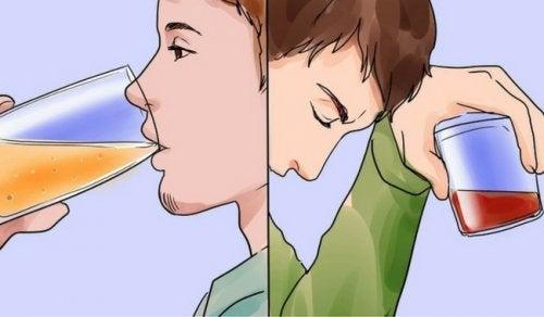 10 effetti immediati dell'alcol sulla salute