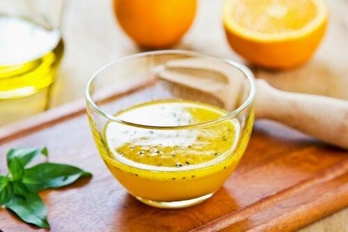 frullati al miele e arancia
