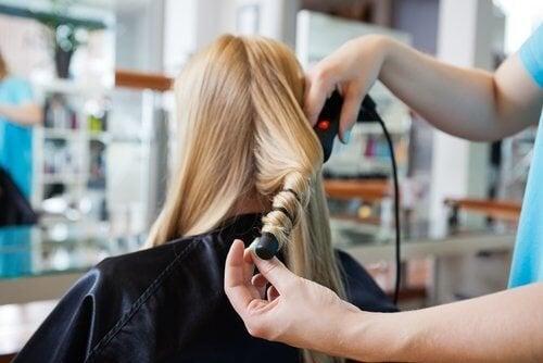 Arricciare i capelli