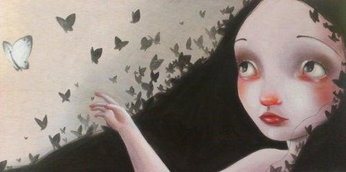 bambina-e-farfalle
