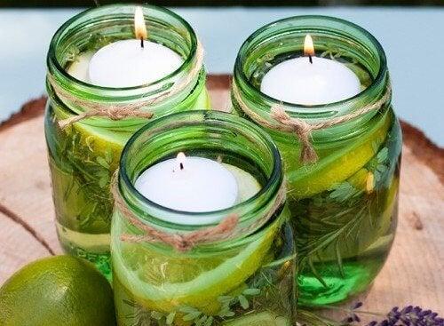 Come realizzare candele profumate per tenere lontani gli insetti