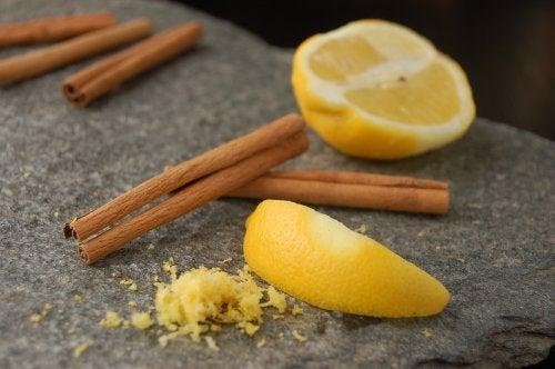 cannella e limone
