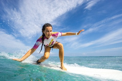 il surf mantiene in forma il cervello