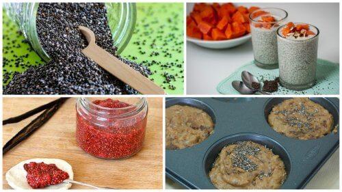 5 deliziosi modi per trarre beneficio dai semi di chia