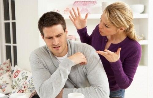 Violenza verbale nella coppia