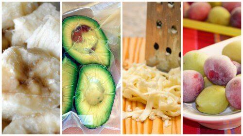 9 alimenti che non sapevate di poter congelare