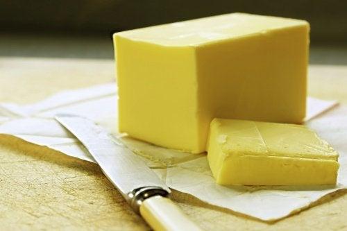 burro tra gli alimenti che si possono congelare