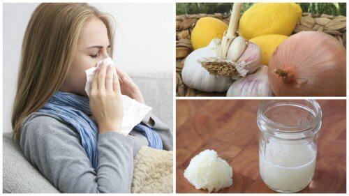 Cura a base di cipolla per alleviare tosse, influenza e allergie