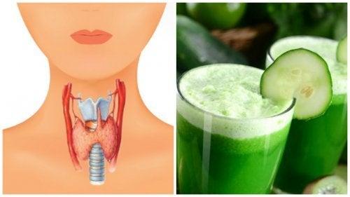 Frullato multivitaminico per prendersi cura della tiroide