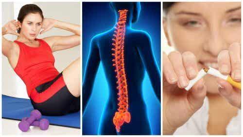 Consigli per mantenere la colonna vertebrale in salute