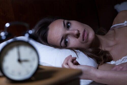 Insonnia durante la notte