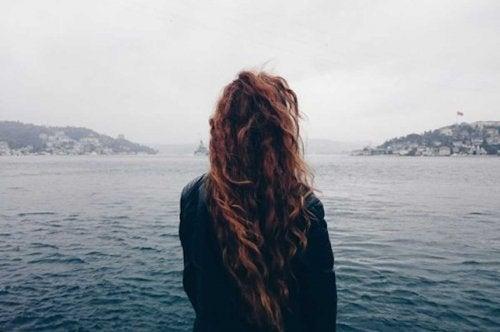 Lasciar andare richiede molto coraggio