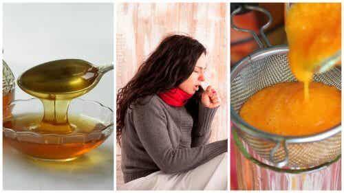 Sciroppo di carota e miele per eliminare il catarro