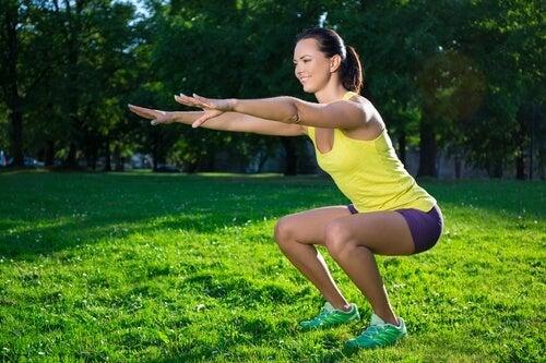 7 motivi per cui fare gli squat tutti i giorni