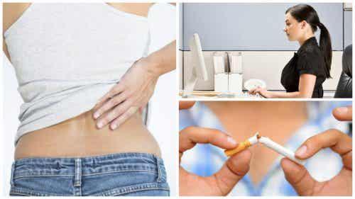 9 metodi naturali per combattere il dolore lombare acuto