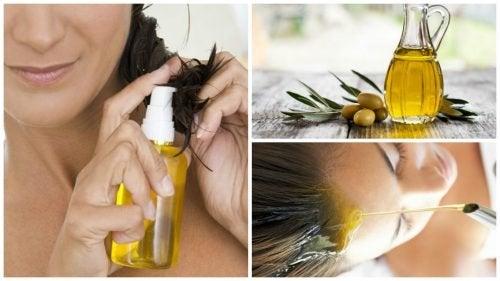 L'uso dell'olio d'oliva per capelli più belli