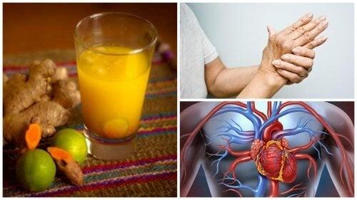 8 interessanti benefici del succo di curcuma