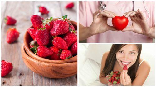 8 benefici delle fragole