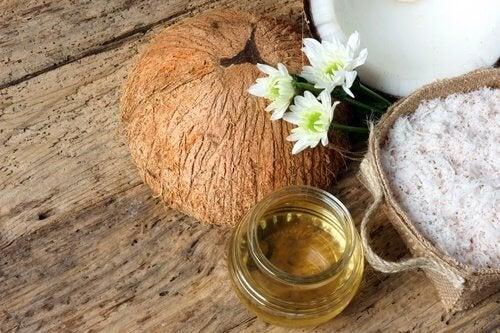 Sieri all'olio di cocco