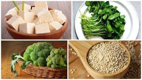 Verdure legumi nella piramide alimentare