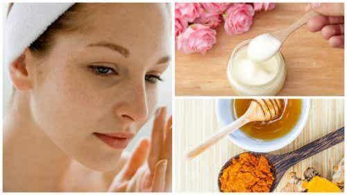 Ridurre le macchie del viso con 5 creme naturali