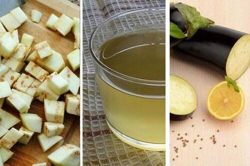 5 buoni motivi per bere acqua di melanzana e limone