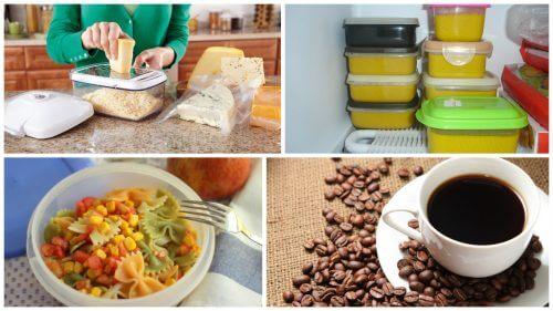 7 alimenti da non conservare mai nei recipienti di plastica