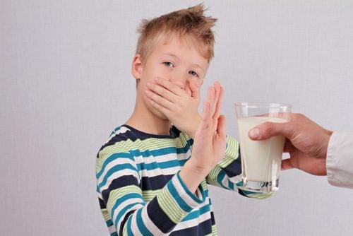 Intolleranza al lattosio nei bambini