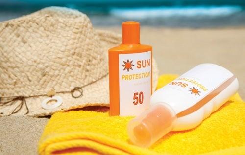 olio solare la pelle secca