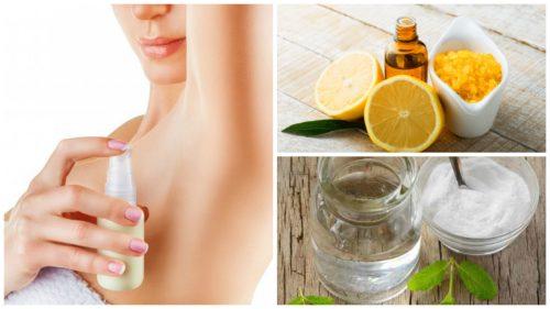 Preparare deodoranti naturali con semplici ingredienti