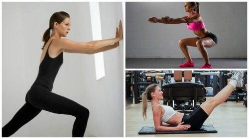 Esercizi per rafforzare il corpo senza attrezzi né pesi