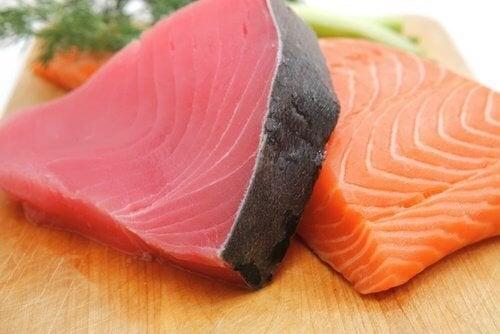 Fette di pesce