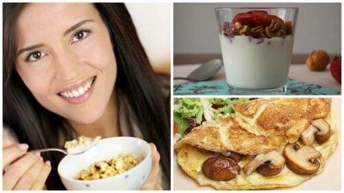 Prima colazione sana e ricca di proteine con 5 idee