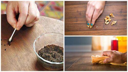 8 trucchi per restaurare le superfici in legno