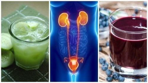 Infezione delle vie urinarie addio con 5 bevande naturali