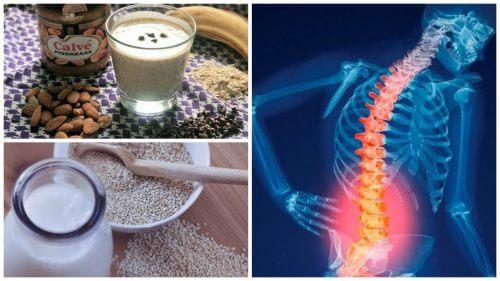 I 6 migliori rimedi naturali per prevenire l'osteoporosi