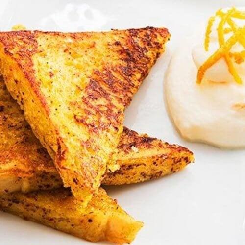 Toast e uova