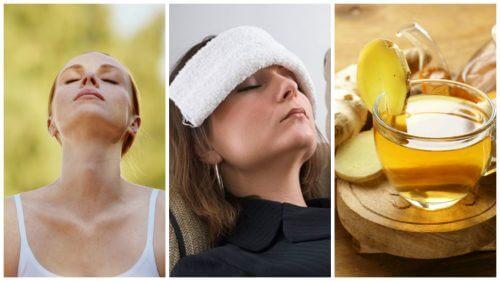6 consigli per alleviare il mal di testa senza medicinali