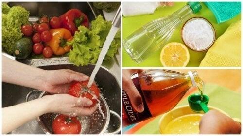 7 consigli per disinfettare frutta e verdura